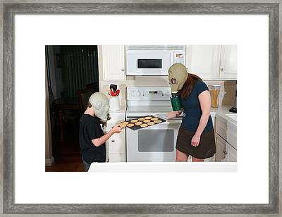 Have A Cookie  Framed Print by Michael Ledray