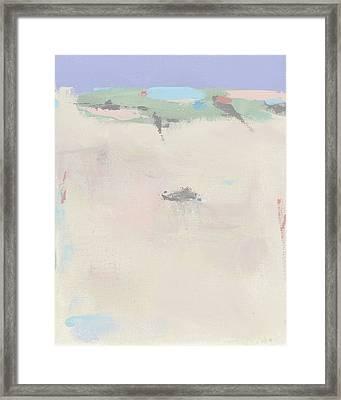 Hazy Beach Day Framed Print by Jacquie Gouveia