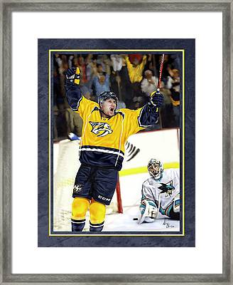 He Shoots He Scores Framed Print by Don Olea