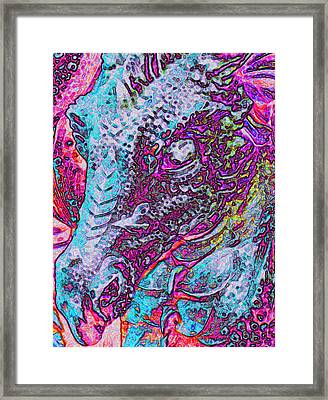 Healing-dragon Framed Print by Ramon Labusch