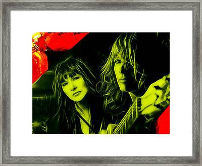 Heart Ann And Nancy Wilson Collection Framed Print by Marvin Blaine