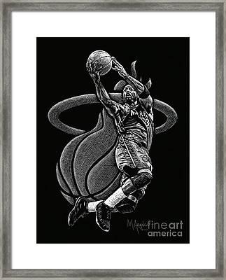 Heat Pride Framed Print by Maria Arango