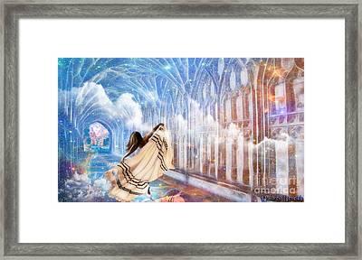 Heavens Gate Framed Print by Dolores Develde