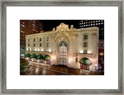 Heinz Hall Pittsburgh Pennsylvania Framed Print by Amy Cicconi