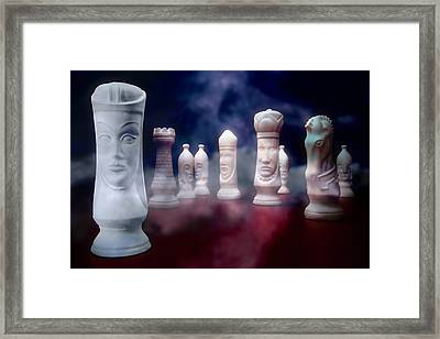 Her Majesty Framed Print by Tom Mc Nemar