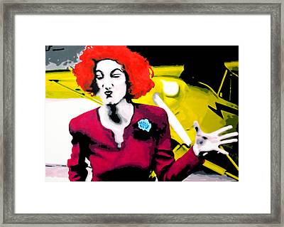 Her Name Is Lil . . Framed Print by Luis Ludzska