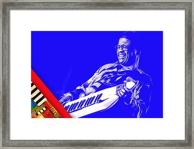 Herbie Hancock Collection Framed Print by Marvin Blaine