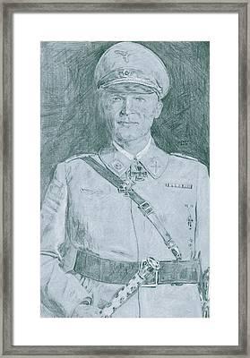 Herman Goering Framed Print by Dennis Larson