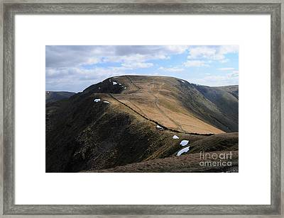 High Street Framed Print by Stephen Smith