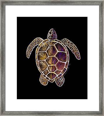 Honu Framed Print by Kirsten Carlson