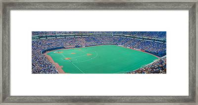 Hubert H. Humphrey Metronome, Twins V Framed Print by Panoramic Images