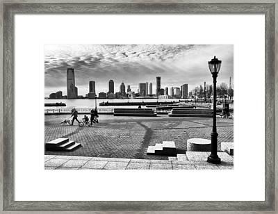 Hudson River Views Framed Print by Jessica Jenney
