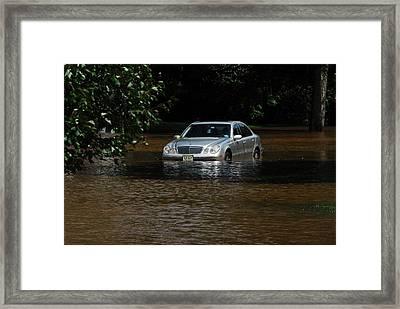 Hurricane Irene 2011 Framed Print by Dimitri Meimaris