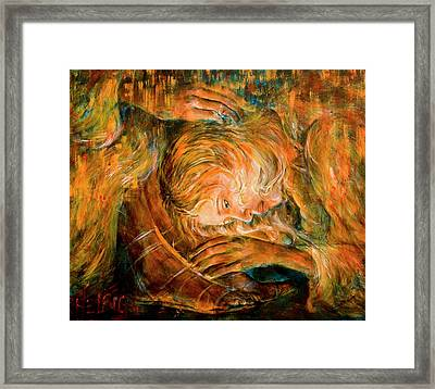 I Cried For You  Framed Print by Nik Helbig