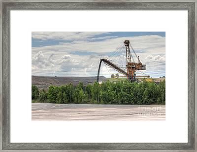 Idyllic Industrial Landscape Framed Print by Michal Boubin
