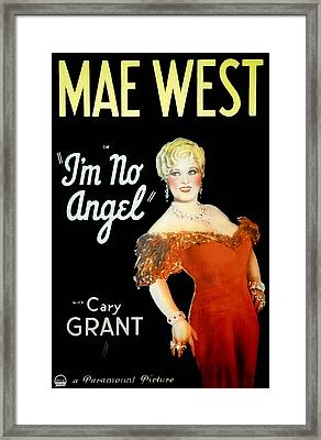 Im No Angel, Mae West, 1933 Framed Print by Everett