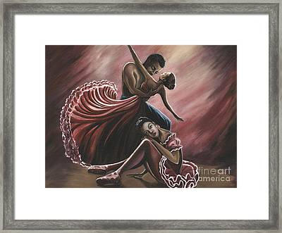 In A Dream Framed Print by Toni  Thorne