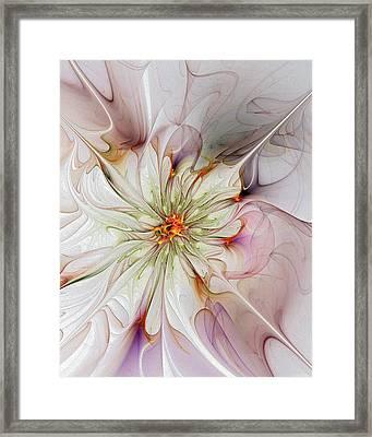In Full Bloom Framed Print by Amanda Moore
