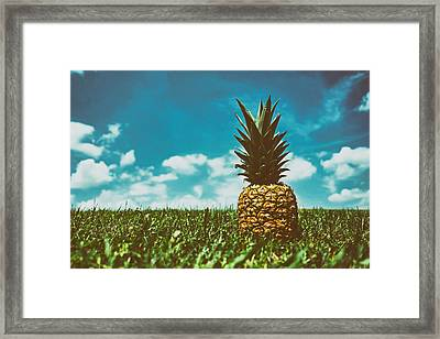 In The Strangest Places Framed Print by Mountain Dreams