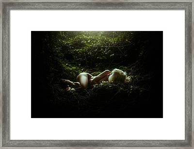 Innocence  Framed Print by TJ Drysdale