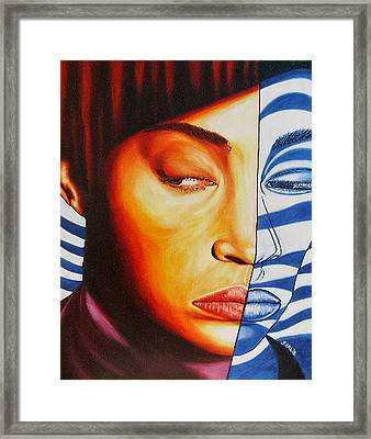 Intuition Framed Print by Shahid Muqaddim