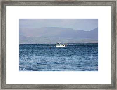 Irish Fishing Boats  Framed Print by Scott Pellegrin
