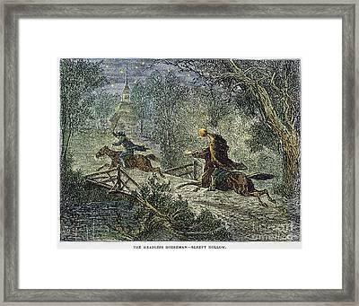 Irving: Sleepy Hollow Framed Print by Granger