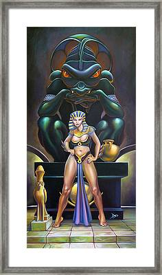 Isis And Osiris Framed Print by Patrick Anthony Pierson