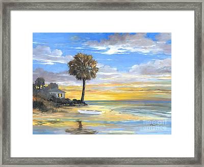 Islands Twilight Framed Print by Paul Brent