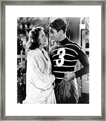 Its A Wonderful Life, Donna Reed, James Framed Print by Everett