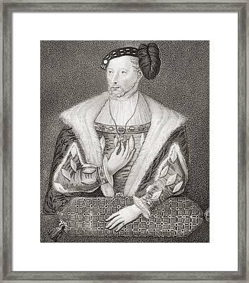 James V, King Of Scots, 1512 Framed Print by Vintage Design Pics