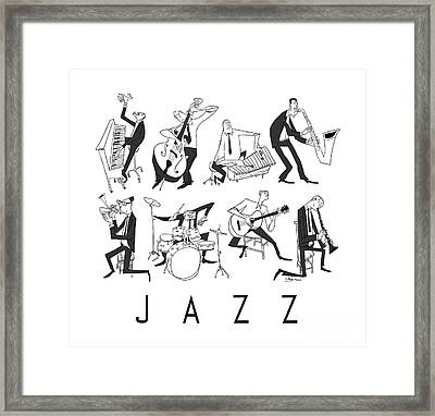 Jazz Framed Print by Sean Hagan