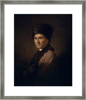 Jean-jacques Rousseau  Framed Print by Allan Ramsay