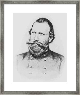 Jeb Stuart Framed Print by War Is Hell Store