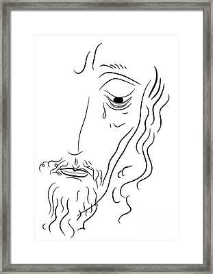 Jesus Christ Framed Print by Michal Boubin