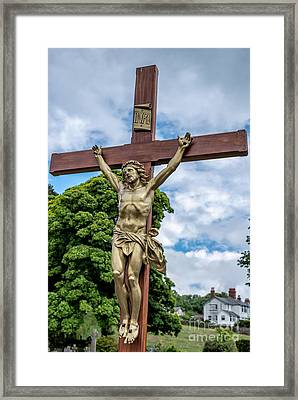 Jesus Of Nazareth Framed Print by Adrian Evans