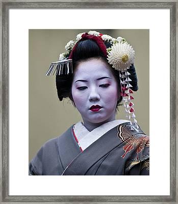 Jidai Matsuri  Festival  Framed Print by Kobby Dagan