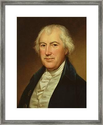 John Beale Bordley Framed Print by Charles Willson Peale