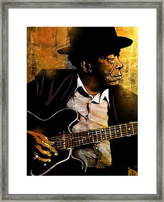 John Lee Hooker Framed Print by Paul Sachtleben