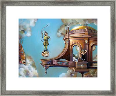 Jugglernautica Framed Print by Patrick Anthony Pierson