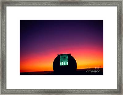 Keck Observatory Framed Print by Peter French - Printscapes