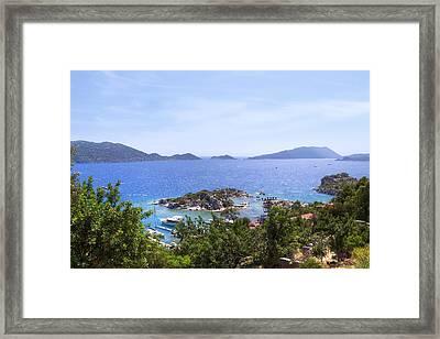 Kekova Archipelago - Turkey Framed Print by Joana Kruse