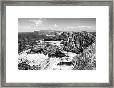 Kerry Cliffs Framed Print by Scott Pellegrin