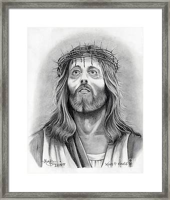 King Of Kings Framed Print by Murphy Elliott