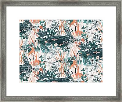 Kingfisher Framed Print by Jacqueline Colley