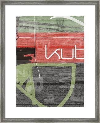 KUT Framed Print by Naxart Studio