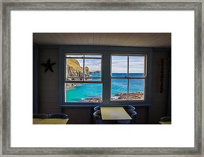 Kynance Cove Framed Print by Martin Newman