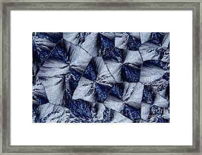 Lactose Monohydrate, Polarized Lm Framed Print by Antonio Romero