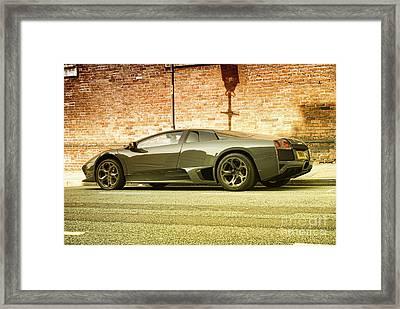 Lamborghini Framed Print by Hristo Hristov