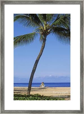 Lanai, Manele Bay Framed Print by Greg Vaughn - Printscapes